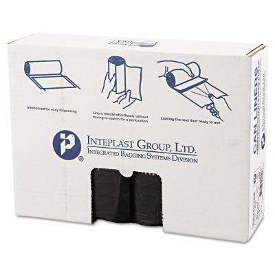 33 Gal. Black High-Density Can Liner (25/Roll, 10-Rolls/Carton)