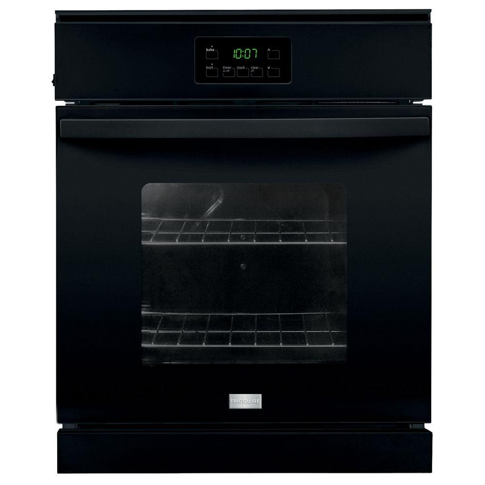 Frigidaire 24 in. Single Electric Wall Oven in Black