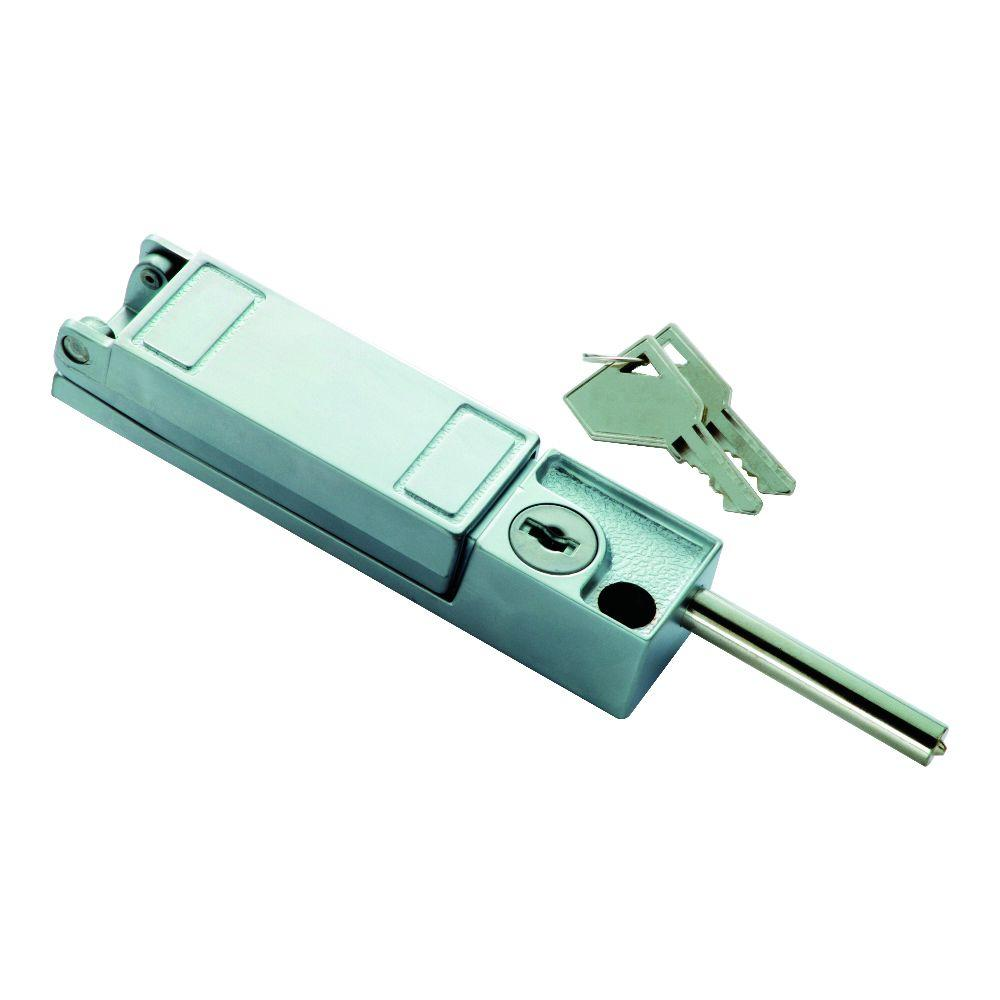 Chrome Keyed Patio Door Lock