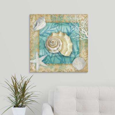 """Shell Collection II"" by Conrad Knutsen Canvas Wall Art"