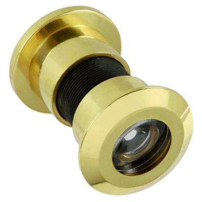 180 Degree Solid Brass Jumbo Door Viewer
