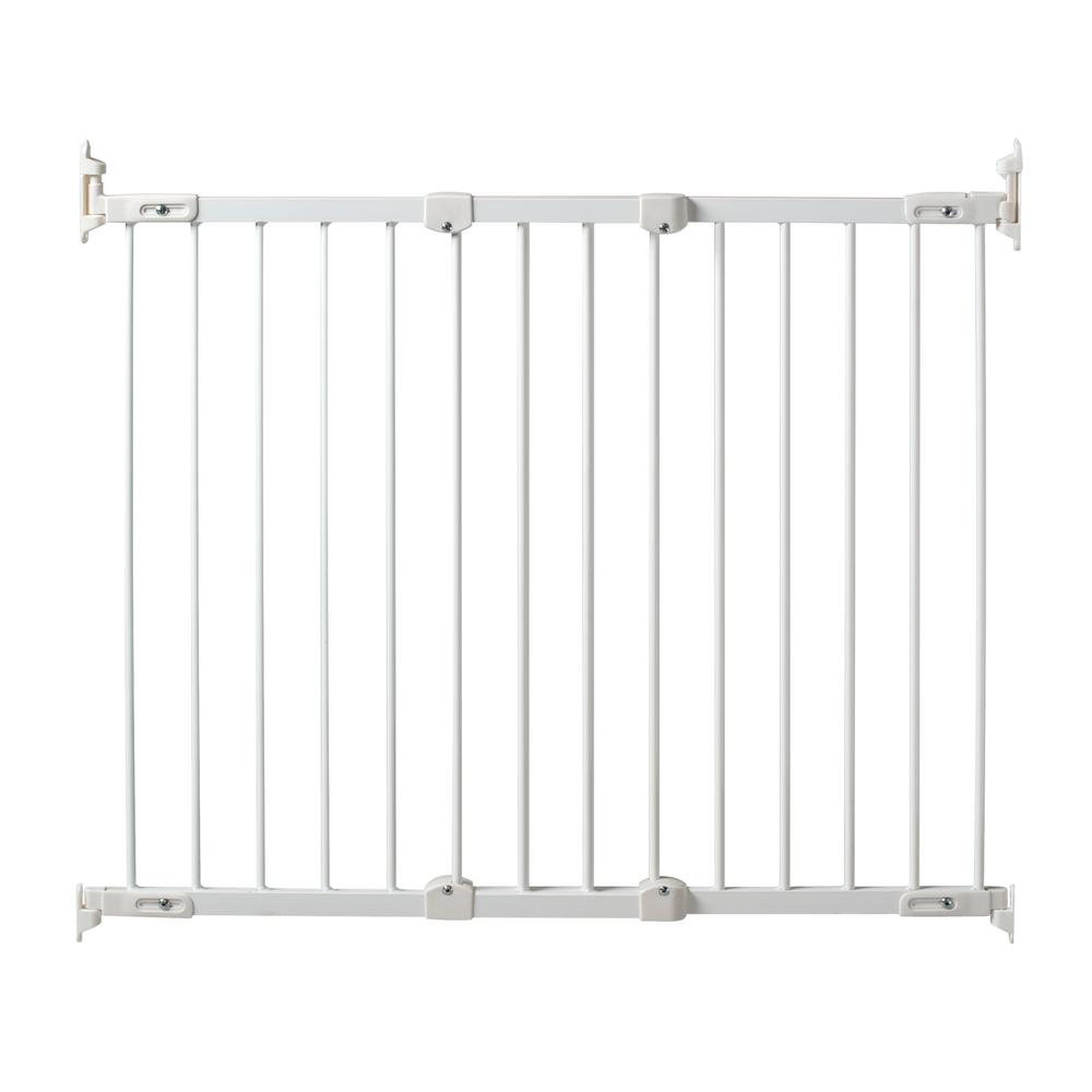 Kidco 31 In Angle Mount Safeway Wall Mounted Gate In