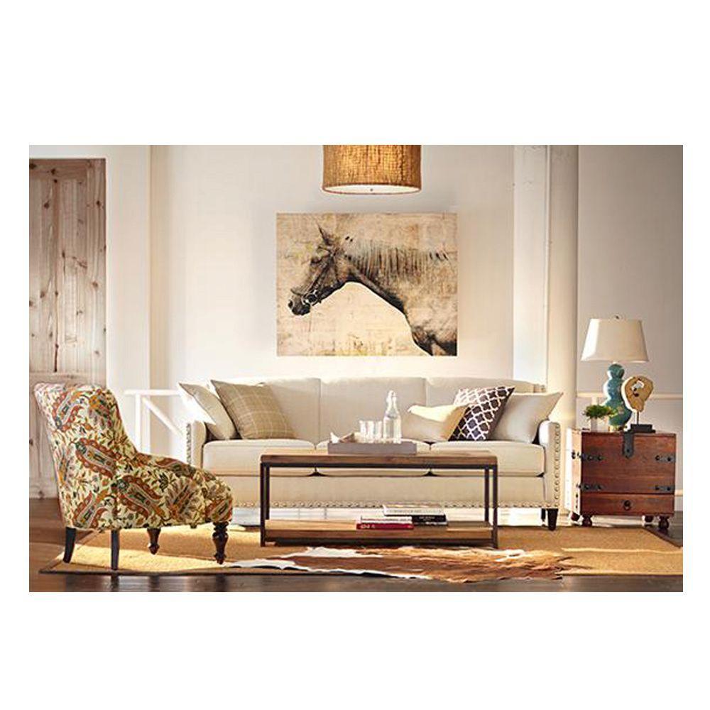 Home Decorators Collection Maldives Walnut End Table