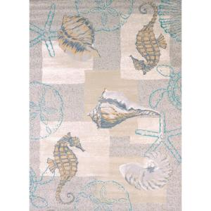 United Weavers Mystic Sea Natural 7 Ft 10 In X 10 Ft 6