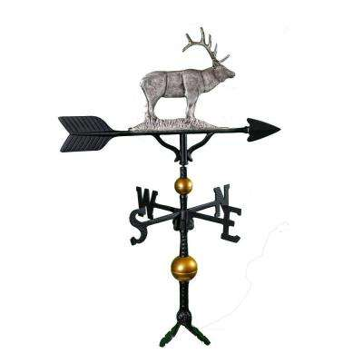 32 in. Deluxe Swedish Iron Elk Weathervane