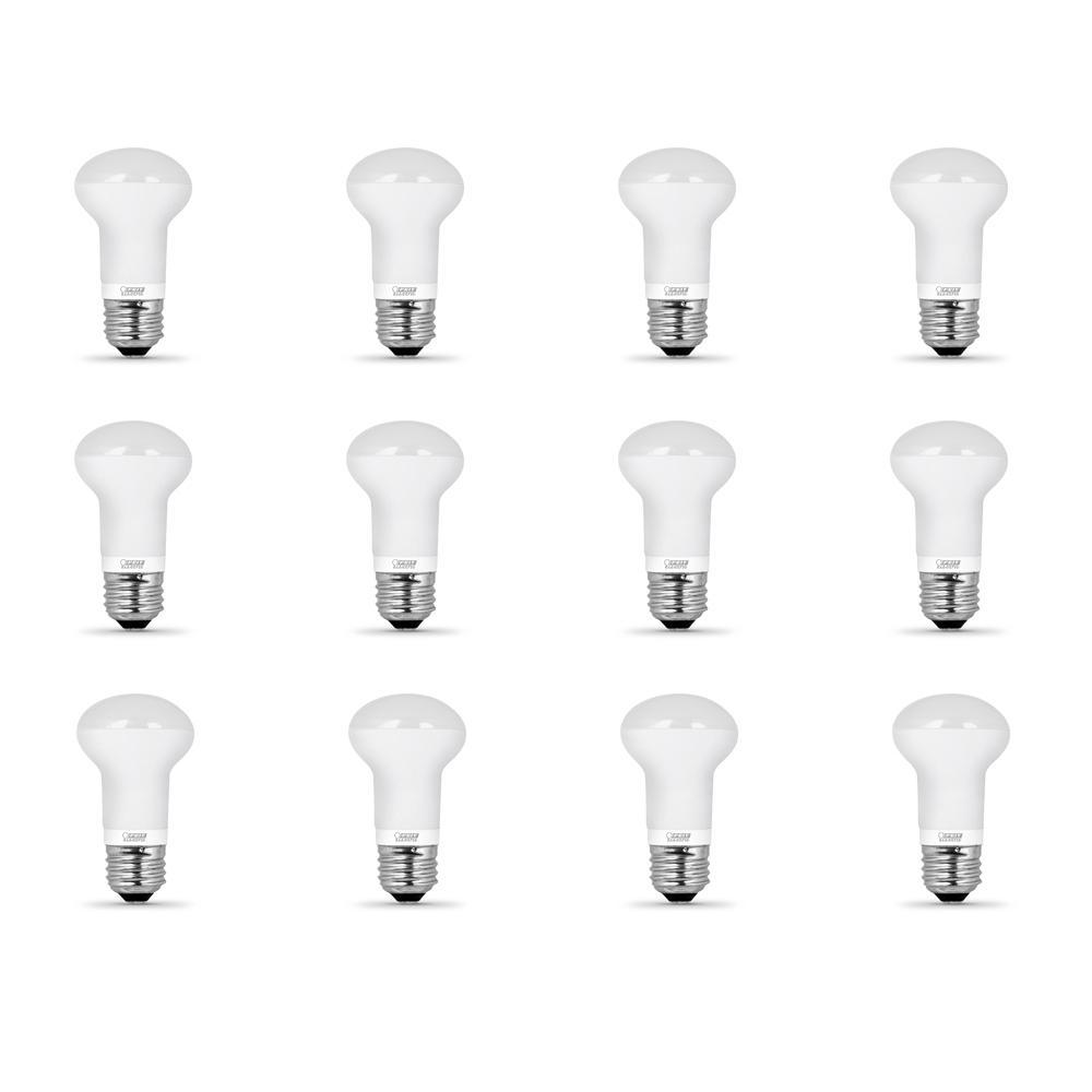 40-Watt Equivalent R16 Dimmable CEC Title 24 Compliant LED Energy Star  Flood Light Bulb Soft White (12-Pack)