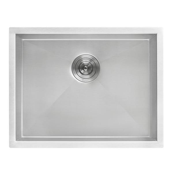 Ruvati 23 In X 18 In Single Bowl Undermount 16 Gauge Stainless Steel Laundry Utility Sink Rvu6100 The Home Depot