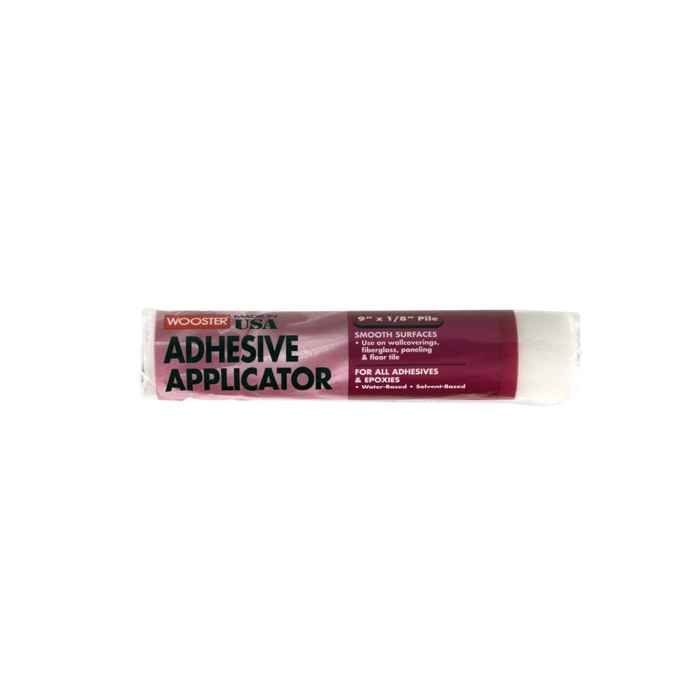 Wooster 9 in. x 1/8 in. High-Density Adhesive Applicator Fabric Roller Cover