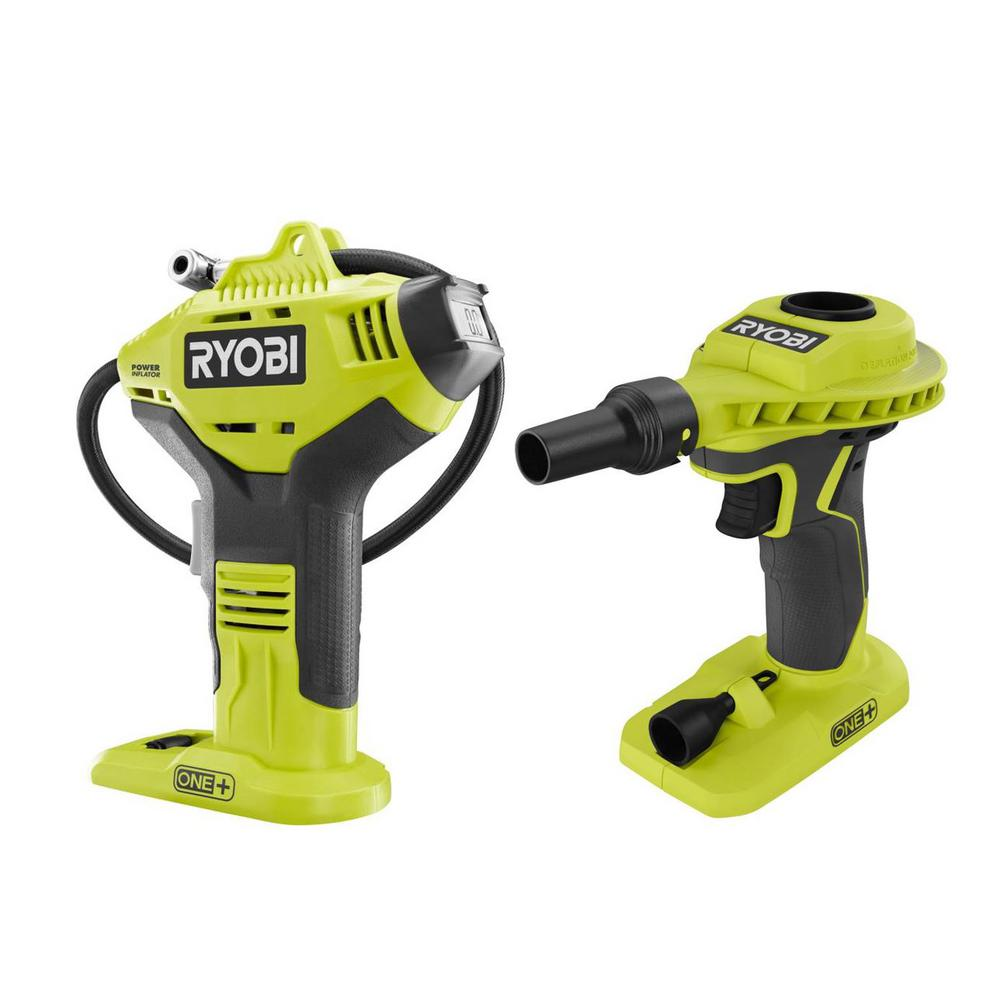 RYOBI 18-Volt ONE+ Cordless Power Inflator and High Volume Inflator 2-Tool Combo Kit (Tools Only) was $59.94 now $39.97 (33.0% off)