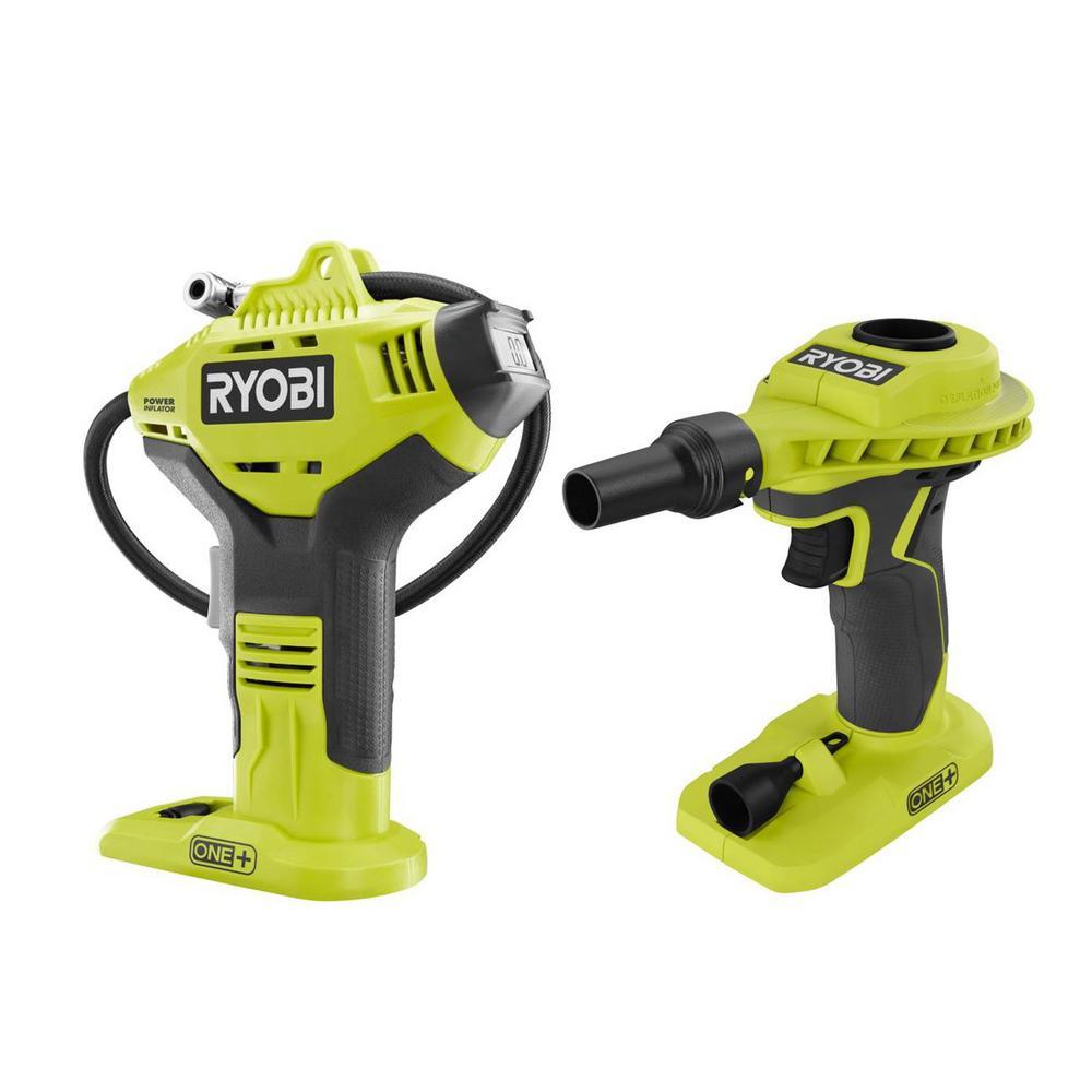 Deals on RYOBI 18-Volt ONE+ Cordless Power Inflator 2-Tool Combo Kit