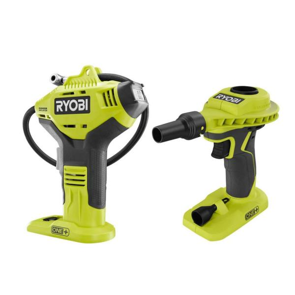 18-Volt ONE+ Cordless Power Inflator and High Volume Inflator 2-Tool Combo Kit (Tools Only)