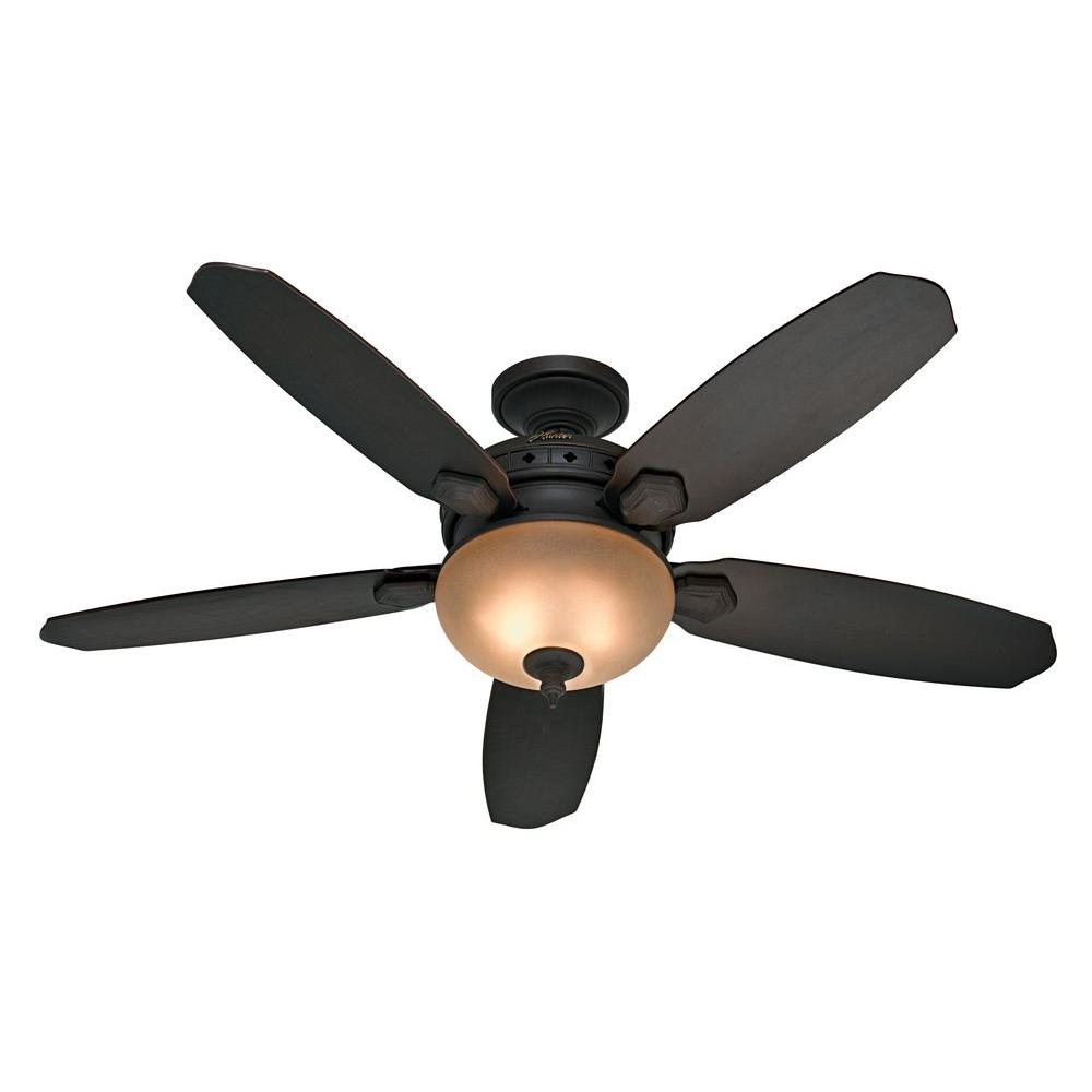 Hunter montesino 52 in indoor maiden bronze ceiling fan for Hunter ceiling fan motor