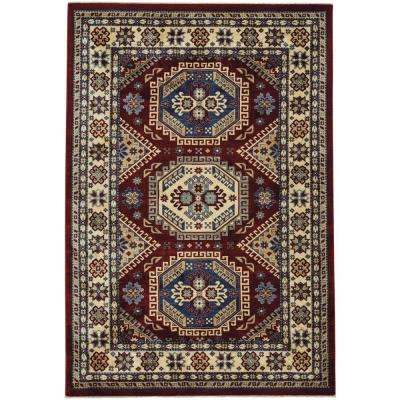 Anatolia-Kazak Ruby 7 ft. 10 in. x 11 ft. Area Rug