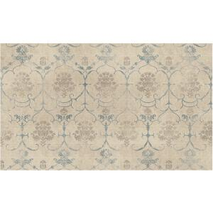 Ruggable Washable Leyla Creme Vintage 3 ft. x 5 ft. Accent Rug by Ruggable