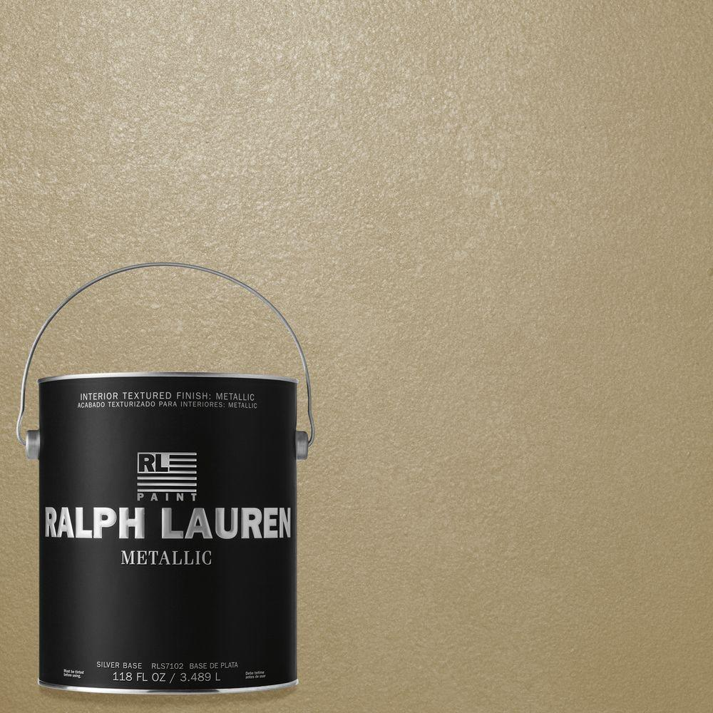 Ralph Lauren 1-gal. Oyster Silver Metallic Specialty Finish Interior Paint