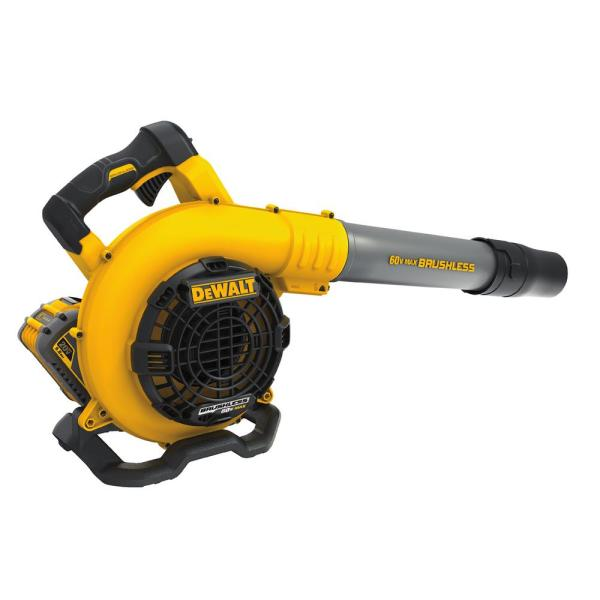 129 MPH 423 CFM 60V MAX Lithium-Ion Cordless FLEXVOLT Handheld Leaf Blower with (1) 3.0Ah Battery and Charger Included