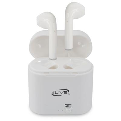 iLive Truly Wire-Free Earbuds, IAEBT209W, Multiple Colors