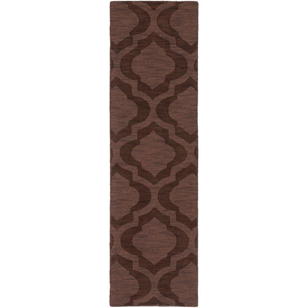 Central Park Kate Chocolate 2 ft. 3 in. x 14 ft.