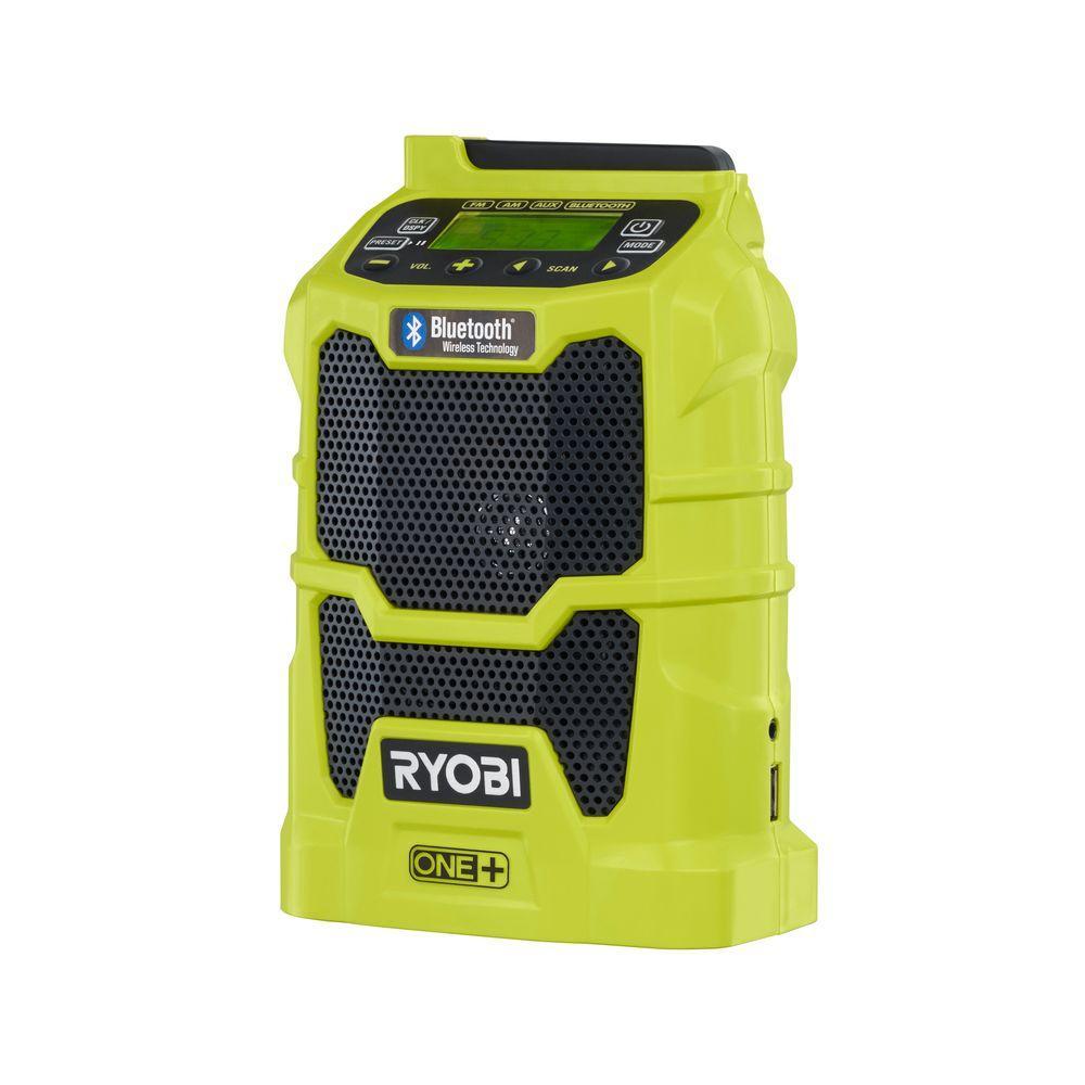 Ryobi 18-Volt ONE+ Compact Radio with Bluetooth Wireless Technology (Tool-Only) by Ryobi