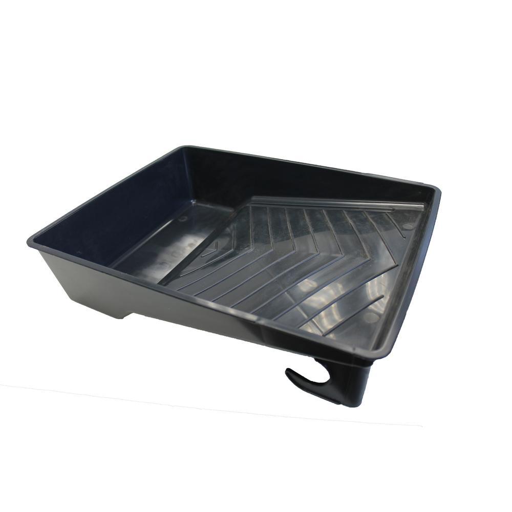 2 Qt. Deep Plastic Tray (12-Pack)