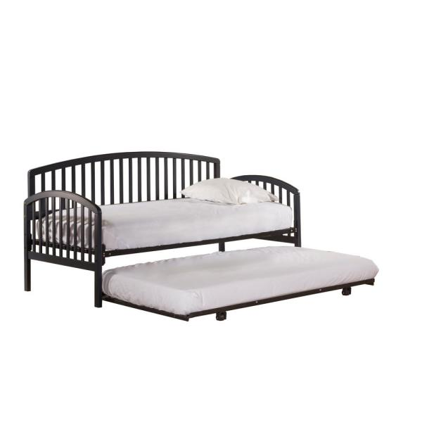 Hillsdale Furniture Carolina Navy Daybed with Suspension Deck and Trundle Included