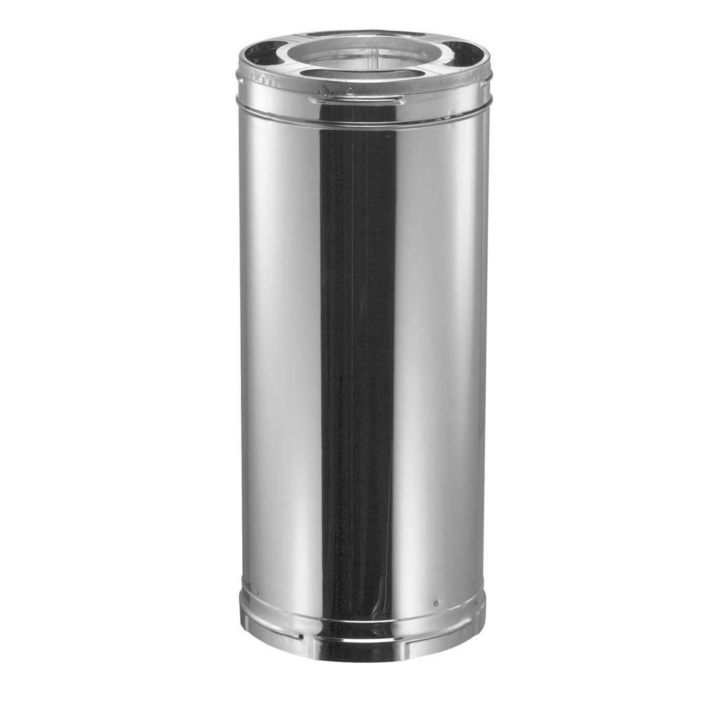 DURA-VENT DuraPlus 6 in. x 24 in. Stainless Steel Triple-...