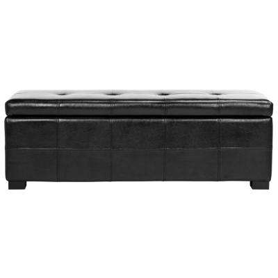 Kerrie Black Storage Bench