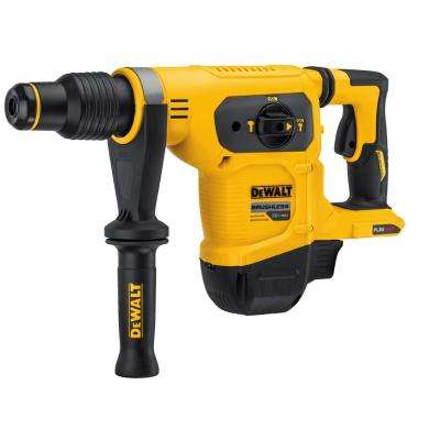 FLEXVOLT 60-Volt MAX Li-Ion 1-9/16 in. Cordless SDS-plus Brushless Combination Rotary Hammer (Tool-Only)