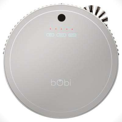bObi Pet Robotic Vacuum Cleaner, Silver