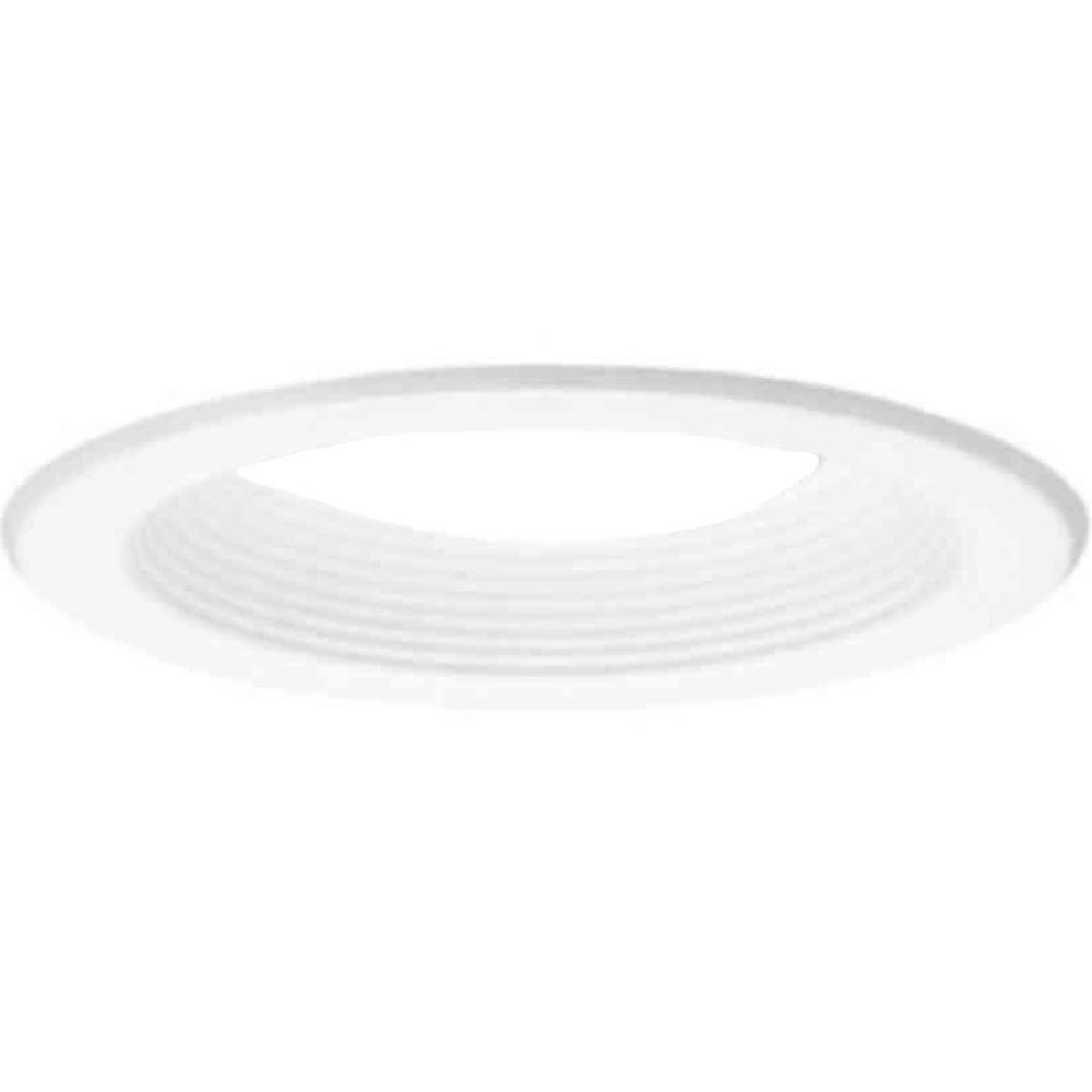 Halo 5001 Series 5 in. White Recessed Ceiling Light with Baffle Trim