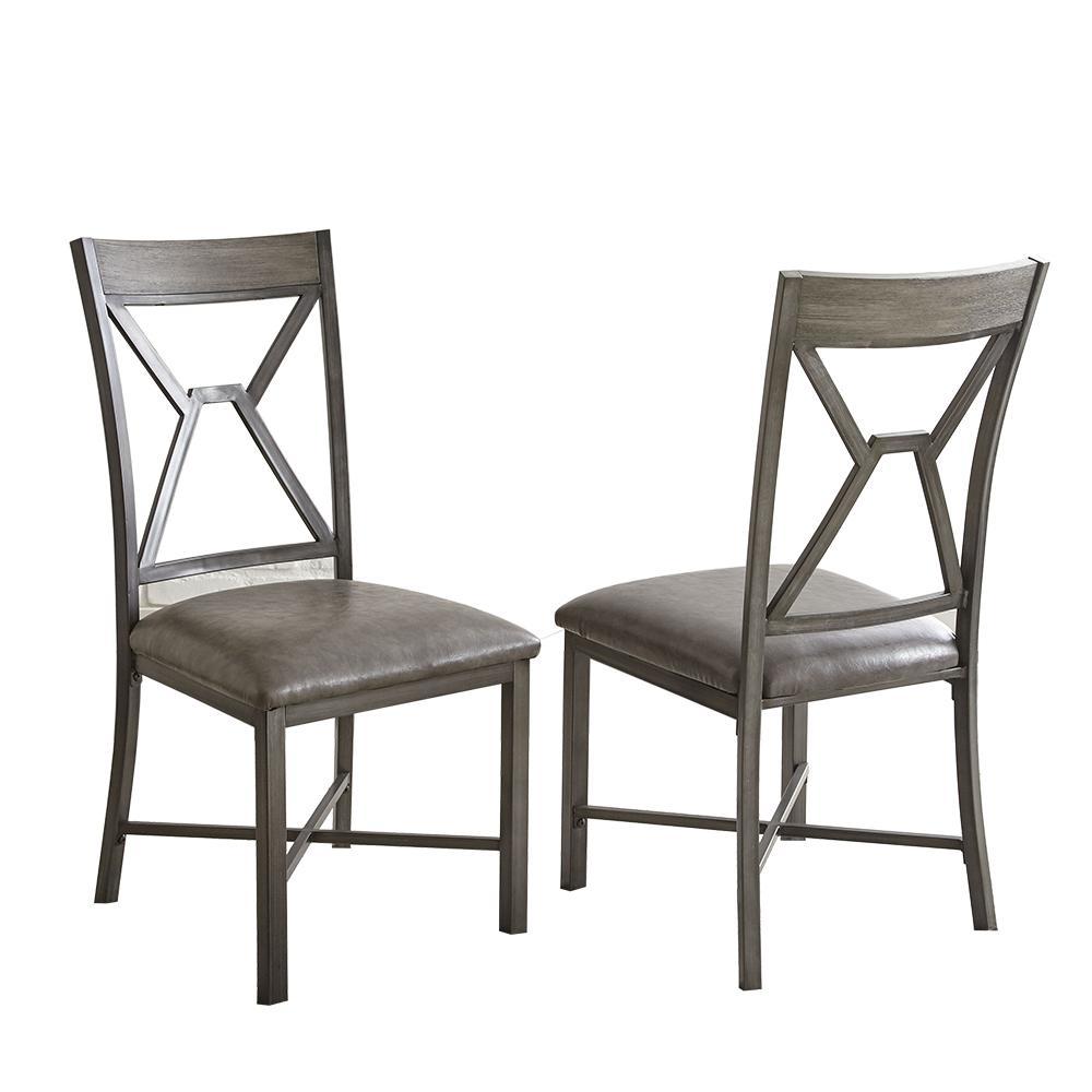 Alamo Black Side Chair (Set of 2)