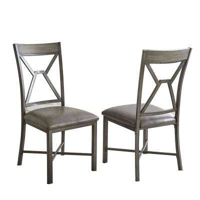 Alamo Black Side Chair (Set of 2)