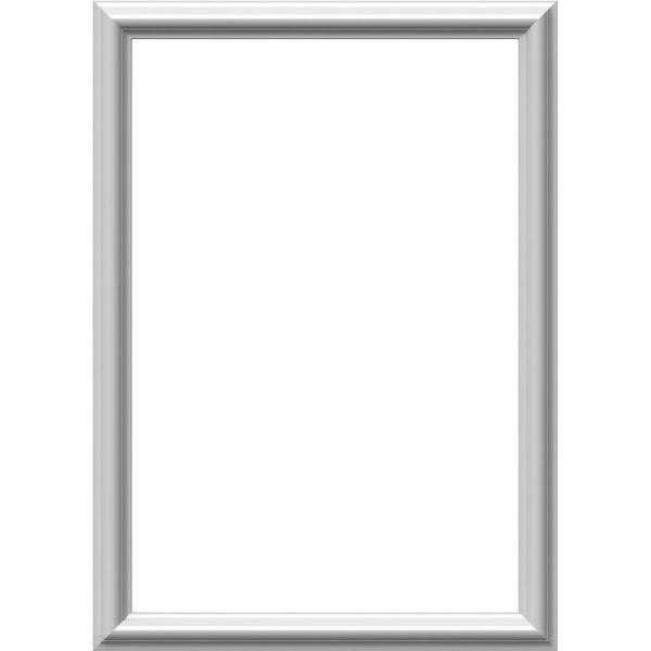 Piece 12-Pack Factory Primed White x x Ekena Millwork PNL12X28AS-02-CASE-12 W x 28 H x 1//2 P Ashford Molded Scalloped Wainscot Wall Panel