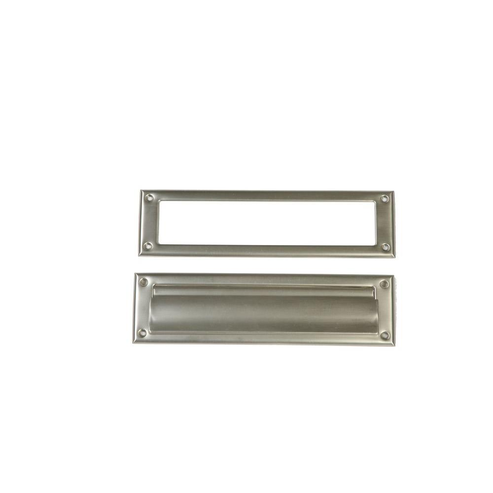 Steel Satin Nickel Mail Slot