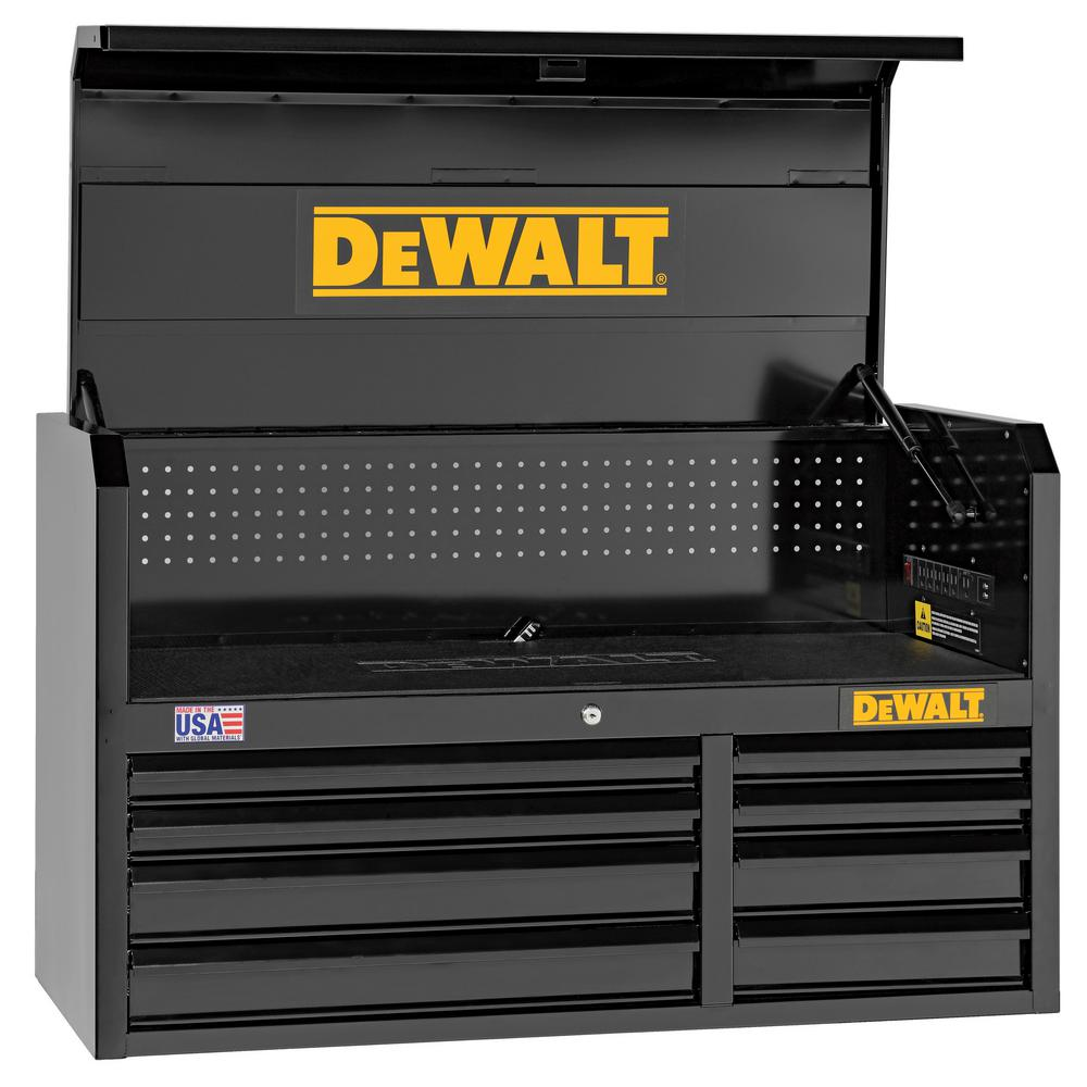 Dewalt 41 In 8 Drawer Top Tool Chest Dwst98067bk The