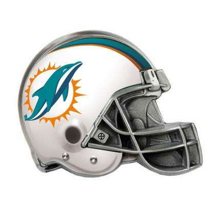 Miami Dolphins Helmet Hitch Cover