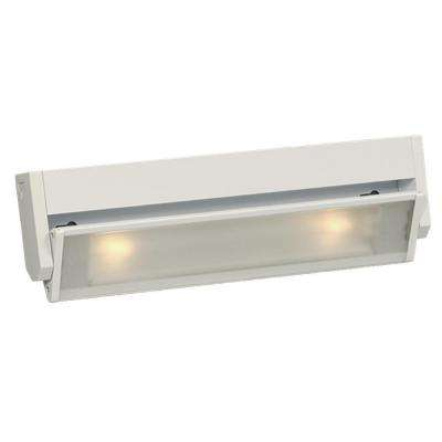 Negron 2-Light White Halogen Under Cabinet Strip Light