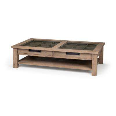 Harrelson I Natural Brown Coffee Table