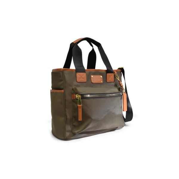 2c9d21057cfc ADRIENNE VITTADINI The Travel Light Collection 8 in. Olive Green  Lightweight Duffel Bag