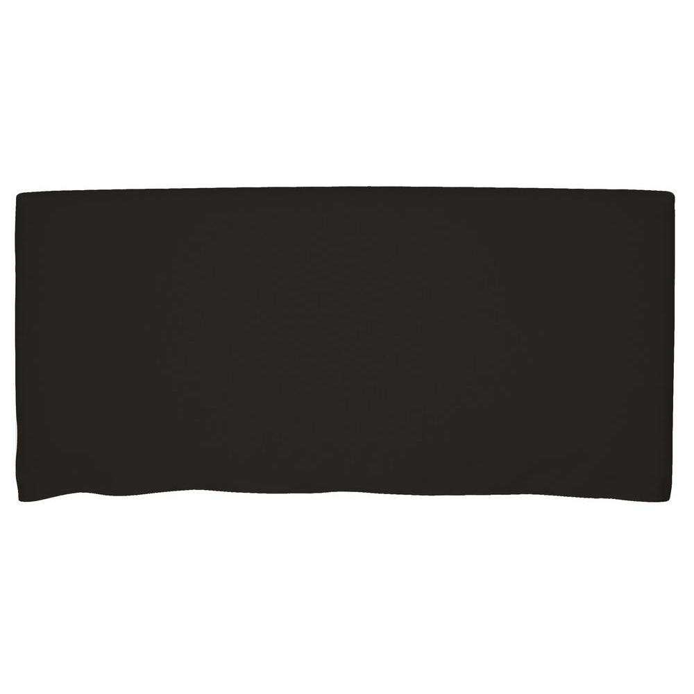 Bernese Black Twin Headboard