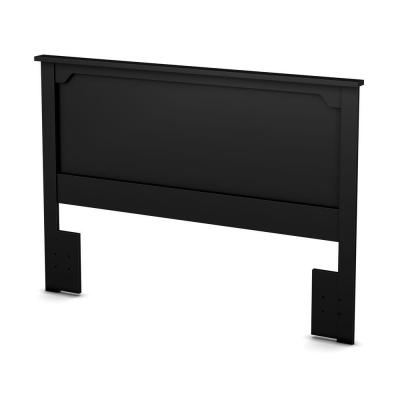 Fusion Pure Black Full/Queen Headboard