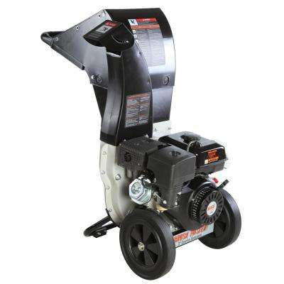 "270cc, 4"" diameter feed, unique and versatile 3-in-1 discharge, Chromium Chipper Shredder"