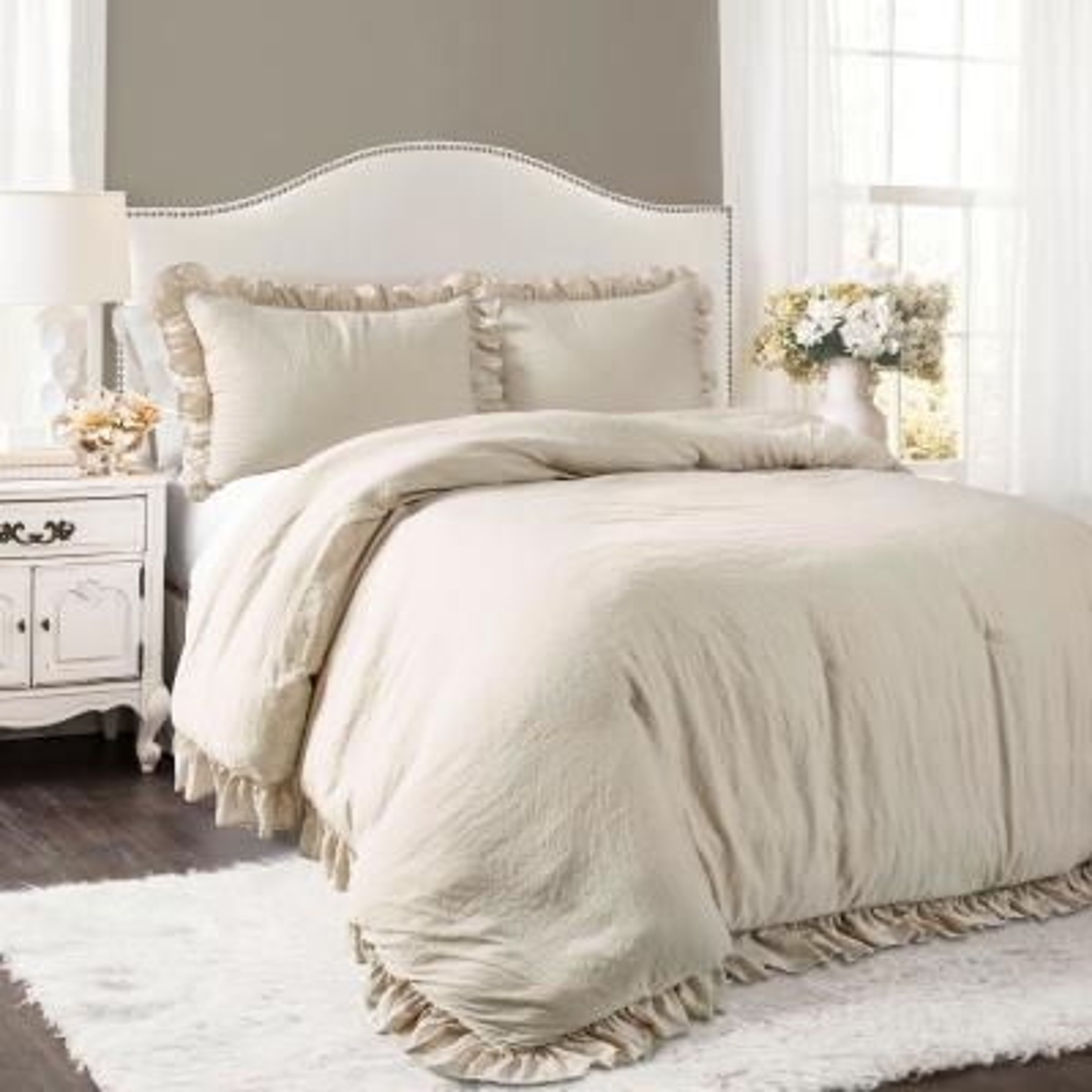 Reyna Comforter Wheat 3-Piece King Set