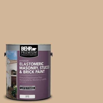 1 gal. #MS-29 Antique Gold Elastomeric Masonry, Stucco and Brick Exterior Paint