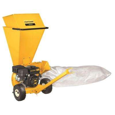 CS 2210 2 in. 208 cc Upright 2-in-1 Gas Chipper Shredder with Tow Bar