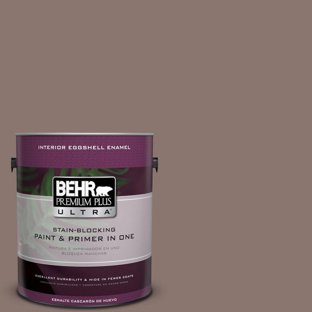 BEHR Premium Plus Ultra 1-gal. #PPF-41 Cedar Plank Eggshell Enamel Interior Paint