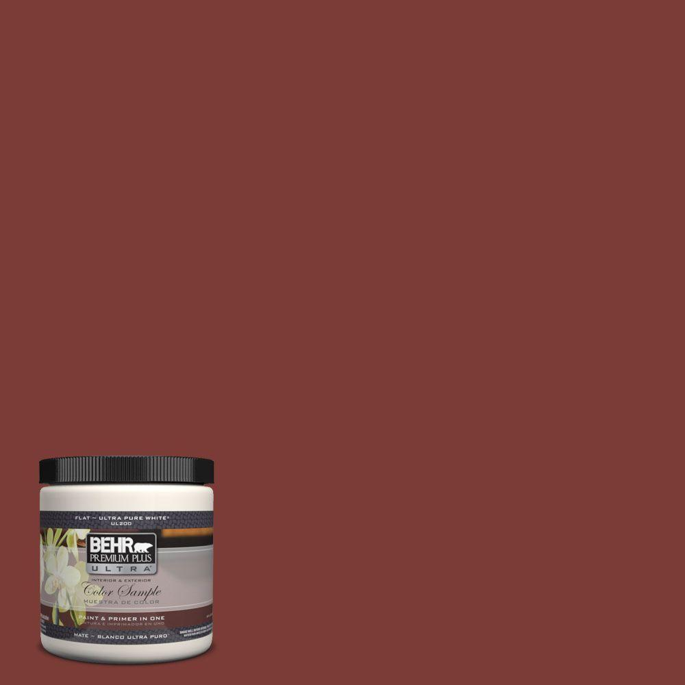 Ul120 22 Red Pepper Matte Interior Exterior Paint And Primer In One Sample