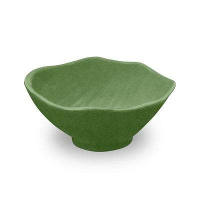 Amazon Leaf 4.3 in. Bamboo Leaf Dip Bowl (Set of 6)