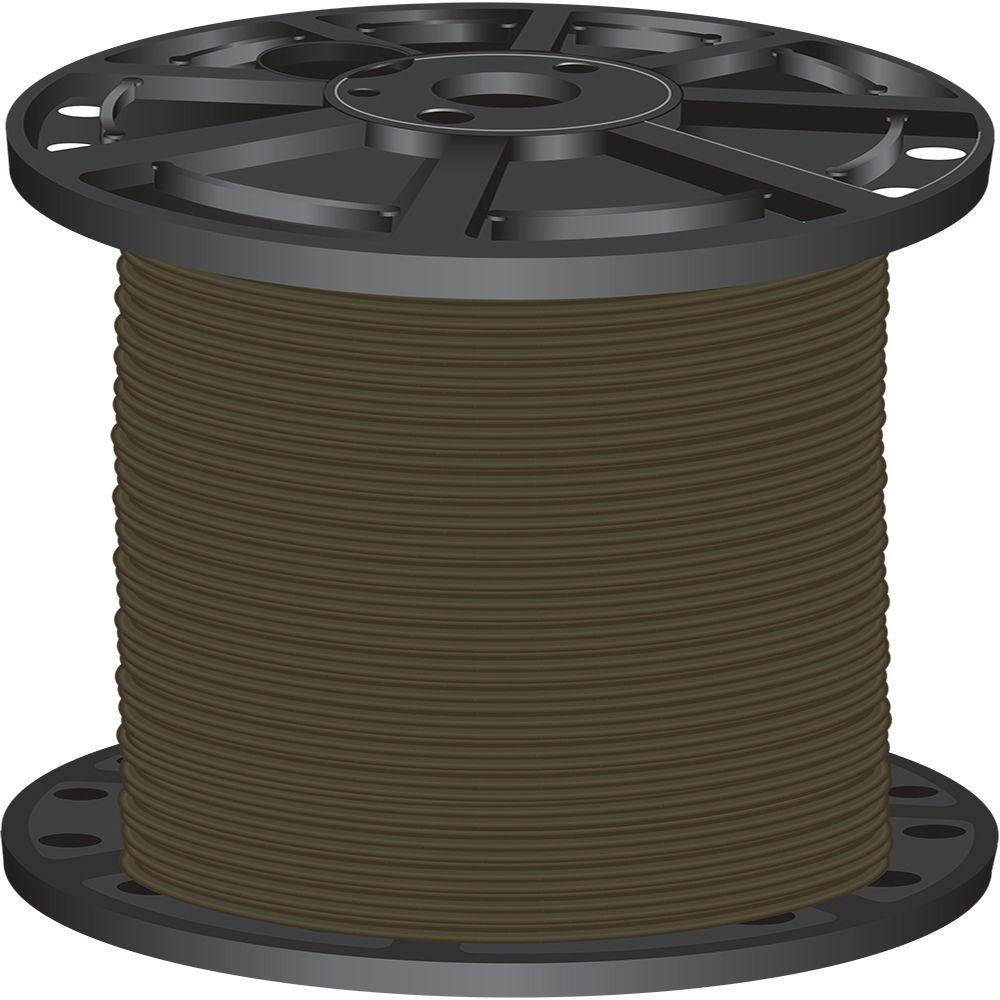 2,500 ft. 8 Brown Stranded CU SIMpull THHN Wire