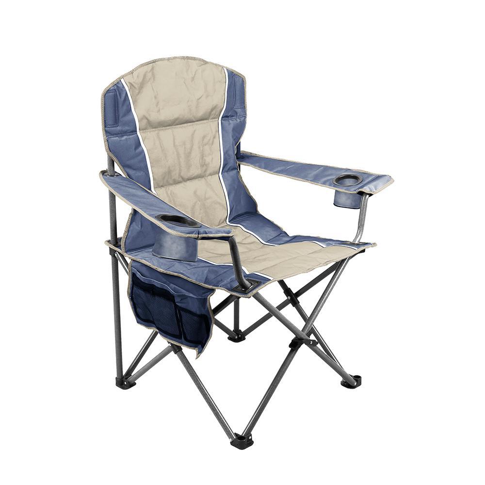 Blue Oversize Folding Chair